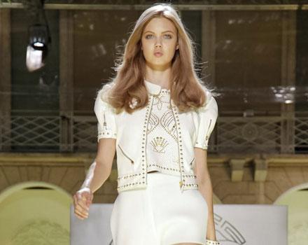 Versace - pantaloncini bianchi