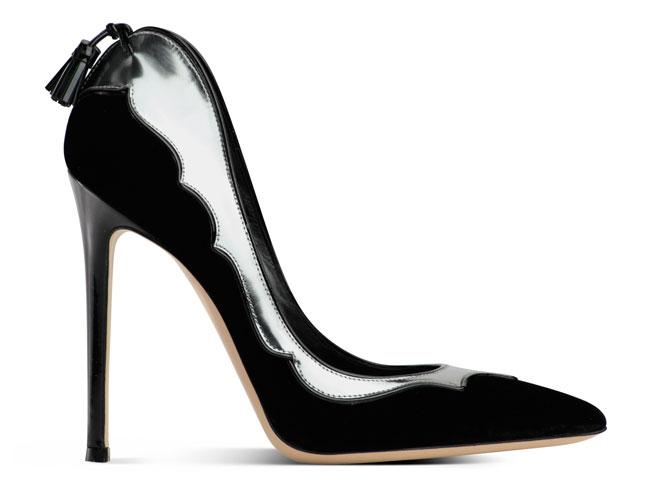 Gianvito Rossi 2012 2013 - scarpa nera con tacco fino