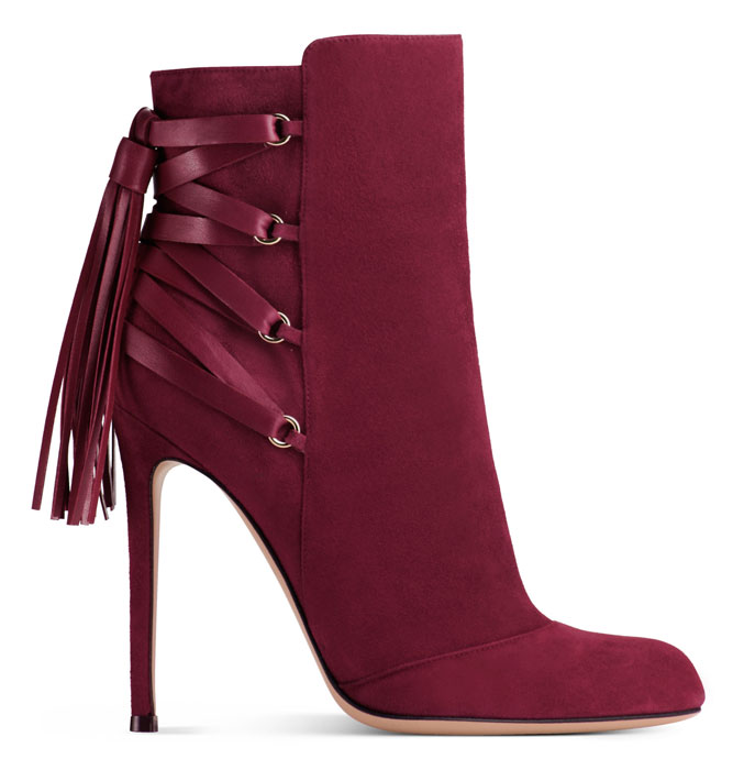 Gianvito Rossi 2012 2013 - Booties rosso