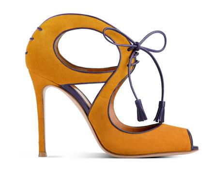 Gianvito Rossi 2012 2013 - scarpa gialla