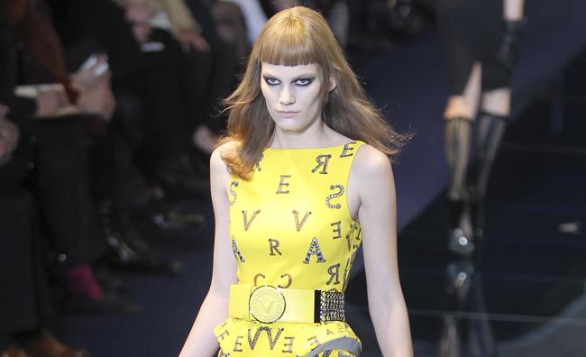 La donna metallica di Donatella Versace