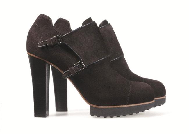 Tod's 2012 2013 - booties marrone