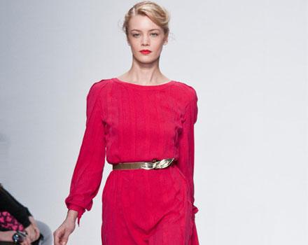 Mila Schon 2012 2013 - abito rosa
