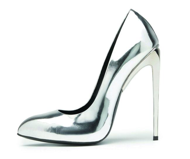 Giuseppe Zanotti 2012 2013 - scarpa argento