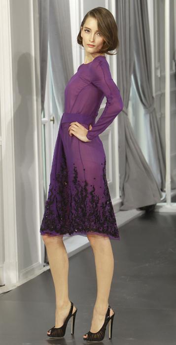 Dior Couture abito lilla