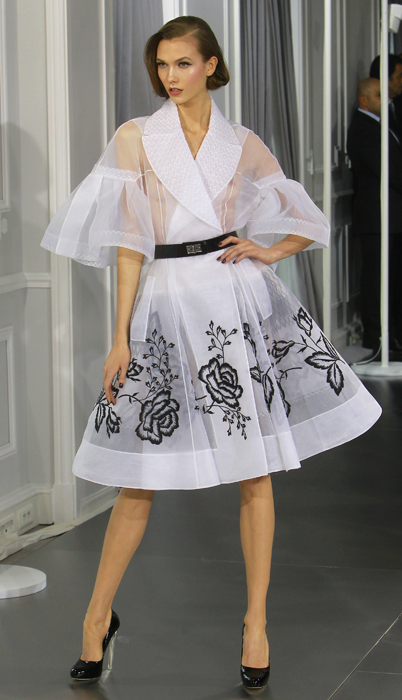 Dior Couture new look bianco