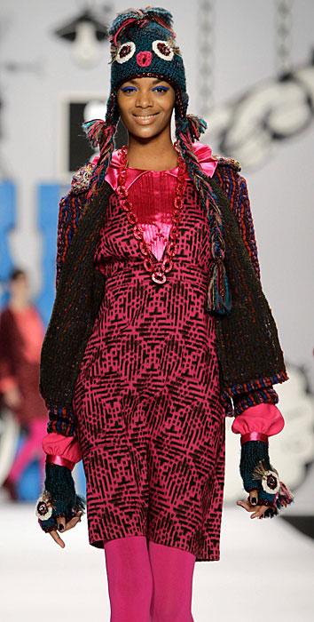 Anna Sui - abito rosa
