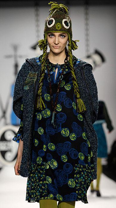 Anna Sui - cappello con trecce