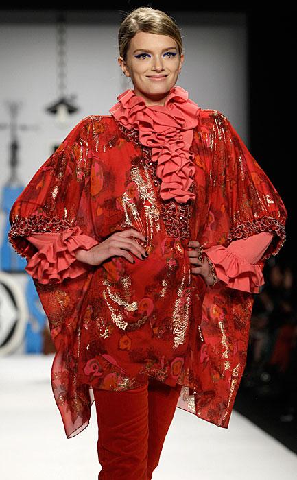 Anna Sui - abito rosso