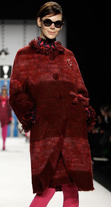 Anna Sui - cappotto con bottoni