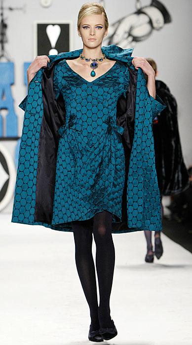 Anna Sui - abito con cappotto