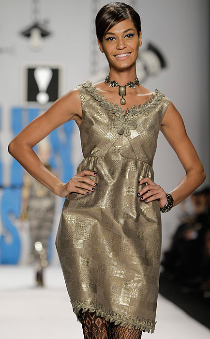 Anna Sui - abito dorato