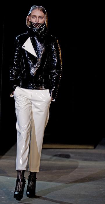 Alexander Wang - giaccone corto nero