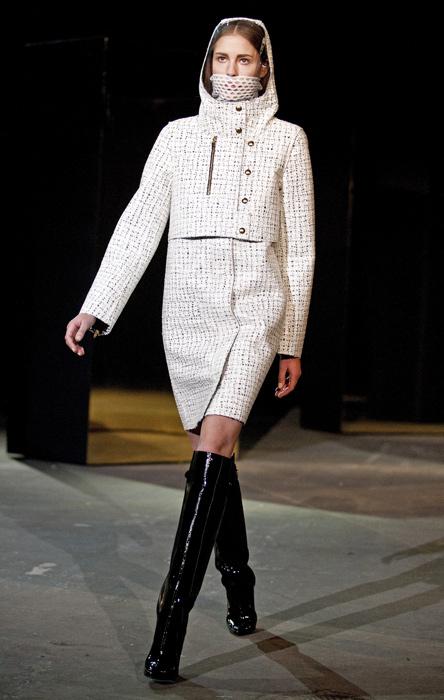Alexander Wang - cappotto con cappuccio
