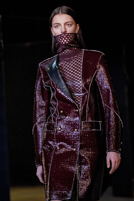 Alexander Wang - cappotto color bordeaux