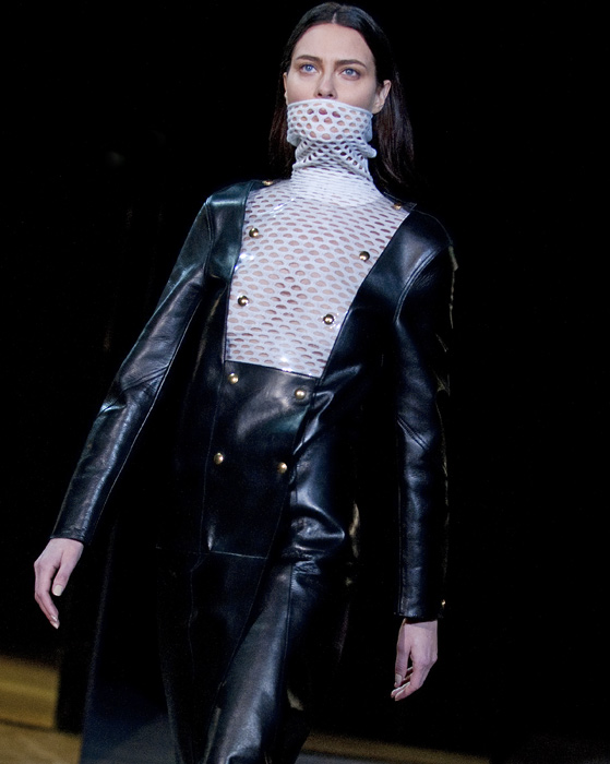 Alexander Wang - cappotto nero lucido