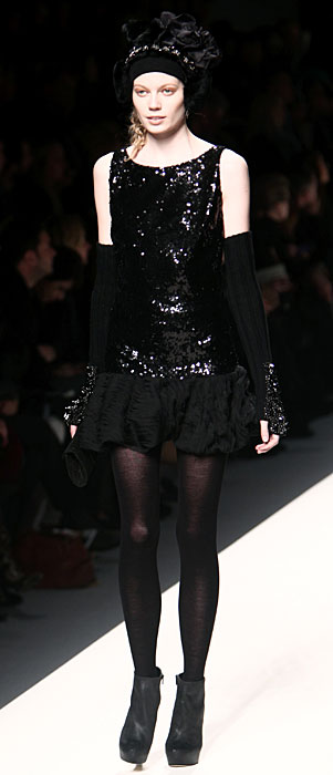Blugirl 2012 Total Black e Scarpe con Tacco