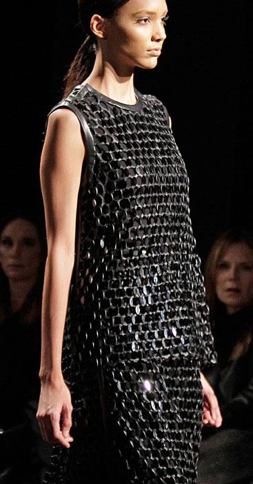 Calvin Klein - abito con paillettes