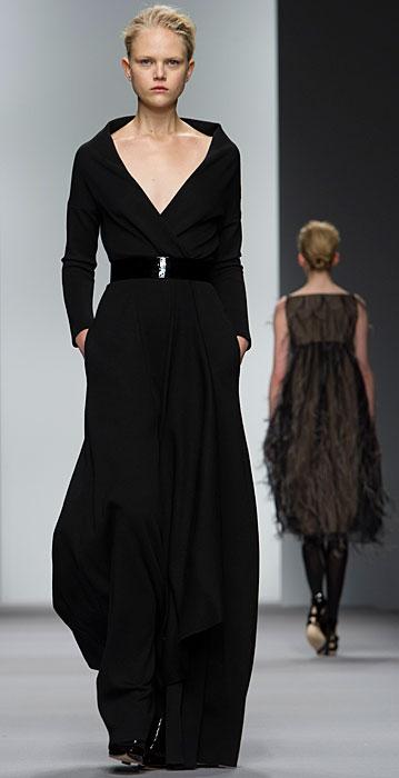 Jasper Conran - abito lungo nero