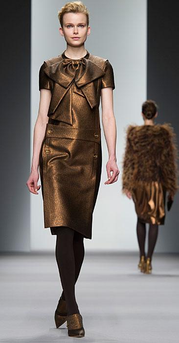 Jasper Conran - abito bronzo