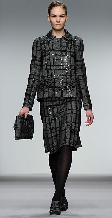 Jasper Conran - tailleur grigio e nero