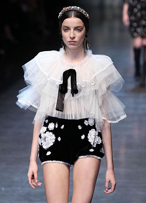 Dolce & Gabbana 2012 Culotte Nera