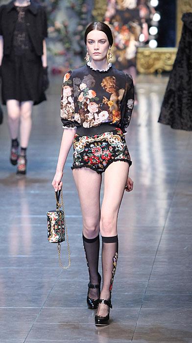 Dolce & Gabbana 2012 Maglia a Fiori