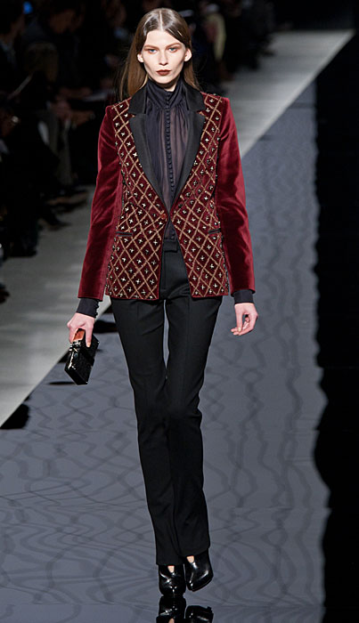 Etro 2012 2013 Giacca Top Nude Look