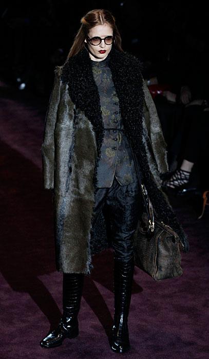 Gucci 2012 Cappotto e Stivali neri