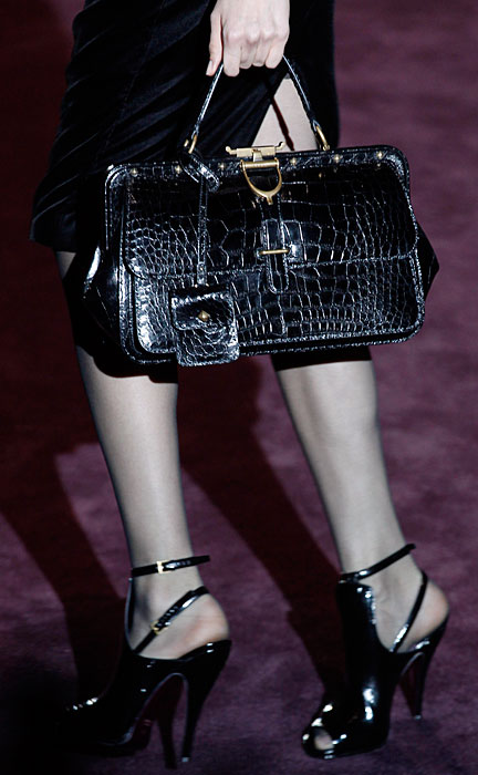 Gucci 2012 Borsa Nera e Scarpe con Tacco