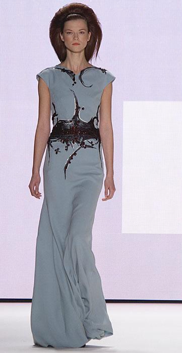 Carolina Herrera - abito da sera turchese