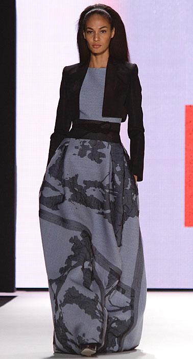 Carolina Herrera - abito lungo con giacchetta nera