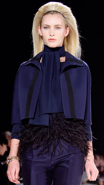 Carolina Herrera - giacca corta blu