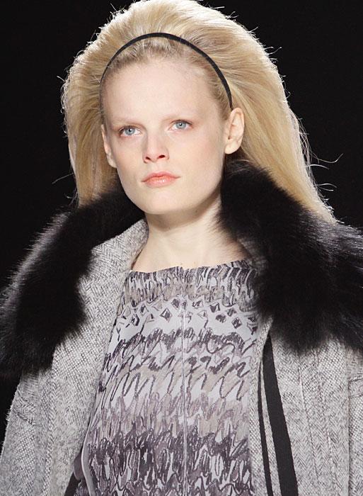 Carolina Herrera - cappotto con pelliccia