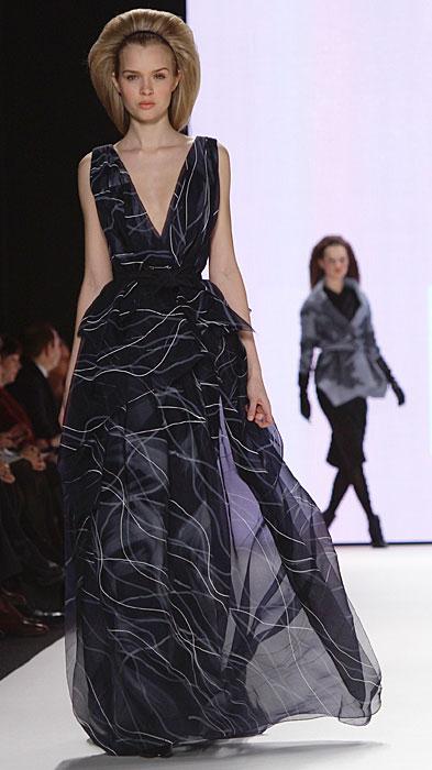 Carolina Herrera - abito da sera con scollo a V
