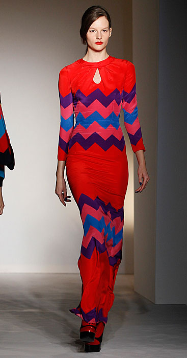 House of Holland - abito lungo rosso
