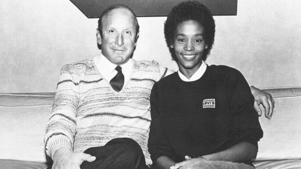 Whitney Houston e Clive Davis