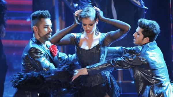 Ivana Mrazova balla a Sanremo
