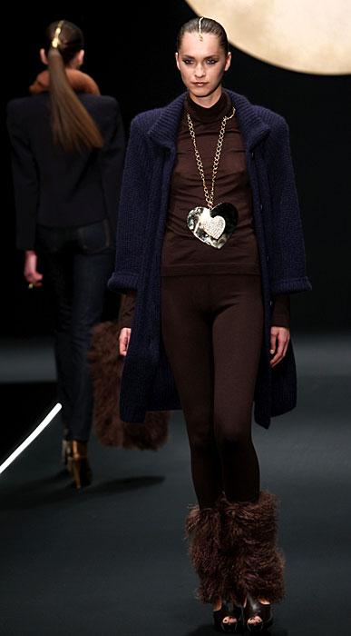 Krizia 2012 Cappotto Pantaloni e Moon Boot