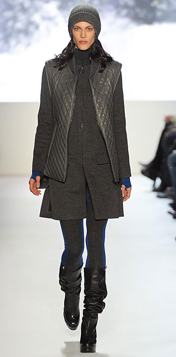 Lacoste -  giacca senza maniche grigia