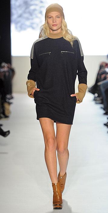 Lacoste - mini abito maniche lunghe