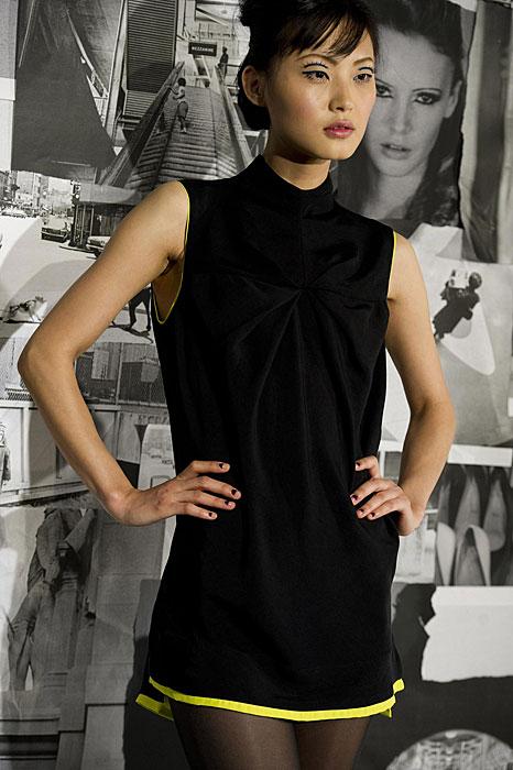 L.A.M.B - mini abito nero