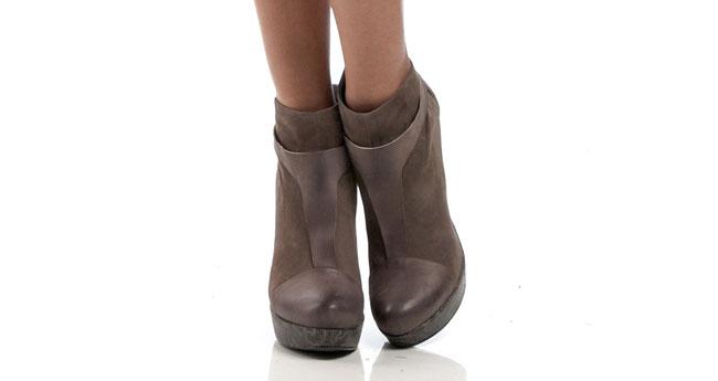 Malloni 2012 2013 - booties marrone
