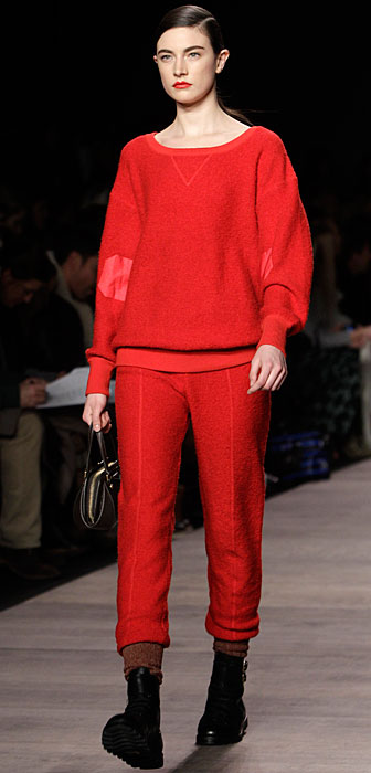 Marc by Marc Jacobs - completo rosso con pantalone
