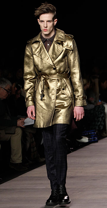 Marc by Marc Jacobs - trench dorato uomo