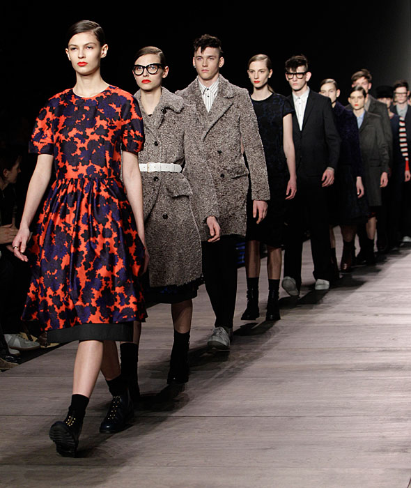 Marc by Marc Jacobs - passerella finale