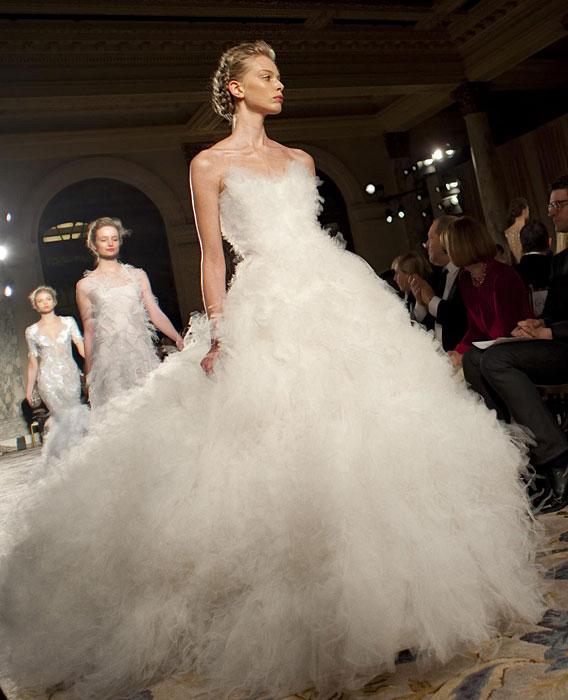 Marchesa - abito bianco
