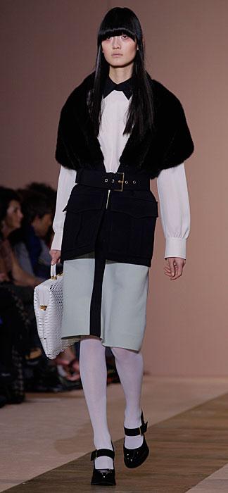 Marni 2012 2013 - giaccaz con cinta