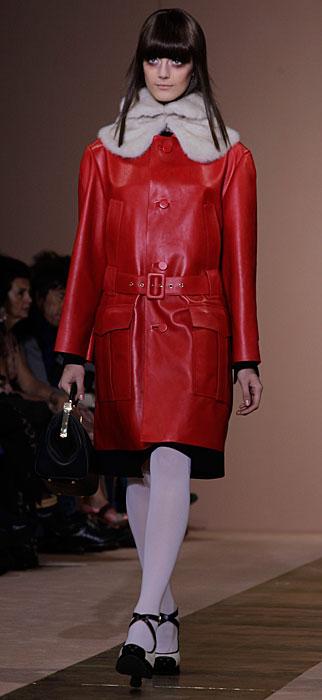Marni 2012 2013 - cappotto rosso