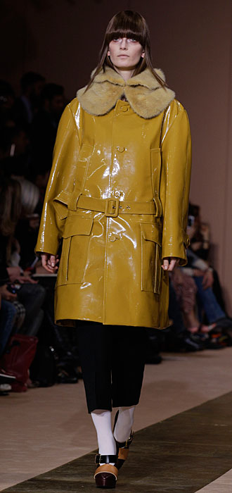Marni 2012 2013 - giacca senape